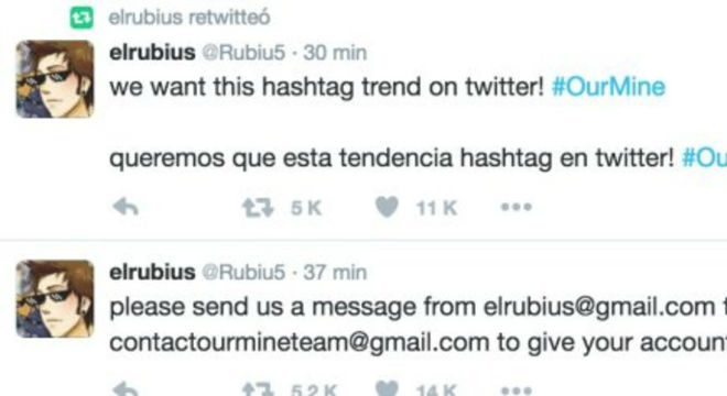 Piratejat el compte d''El Rubius' a Twitter durant uns minuts
