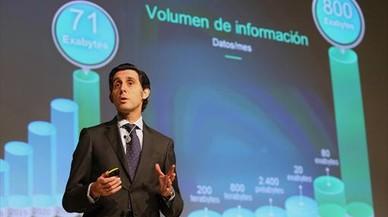 Telefónica anotó 2.439 millones de beneficios hasta septiembre, el 9,6% más