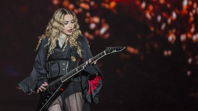 Madonna allibera el Sant Jordi