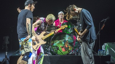 Red Hot Chili Peppers, al Palau Sant Jordi.