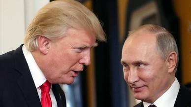 """Putin agradece a Trump su """"colaboración"""" para evitar un supuesto atentado terrorista en San Petersburgo"""