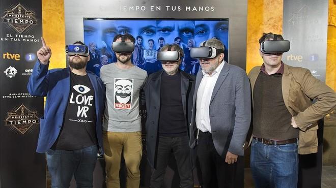 El 'Ministerio del Tiempo' llança una aplicació per interactuar amb els seus personatges