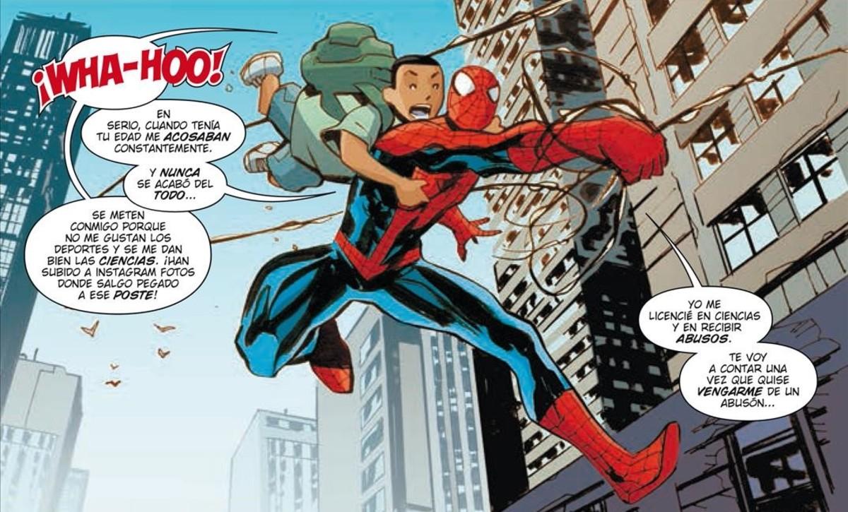 Y Spiderman Spiderman y Los Vengad...