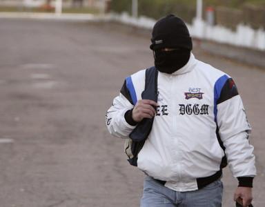 Miguel Ricart, el pasado 29 de noviembre, cuando salió de la prisión de Herrera de la Mancha (Ciudad Real).