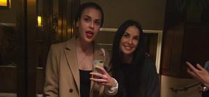 Demi Moore i la seva filla Tallulah Willis, en una imatge que aquesta última ha pujat a Instagram.