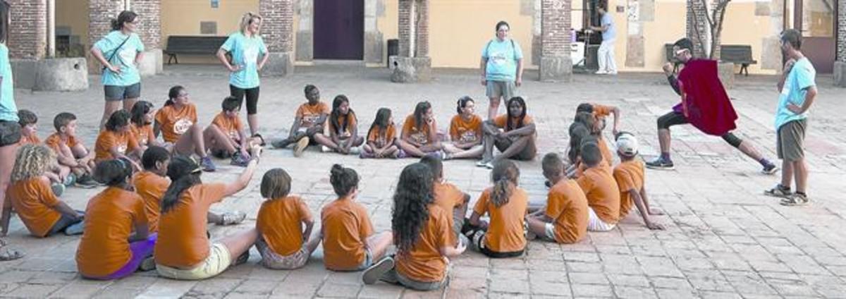 LA CONRERIA Colonias organizadas por la fundación Pere Tarrés en Tiana.