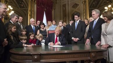 Trump comença a executar el seu programa