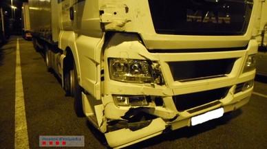 Enxampat un camioner que superava vuit vegades el límit d'alcohol