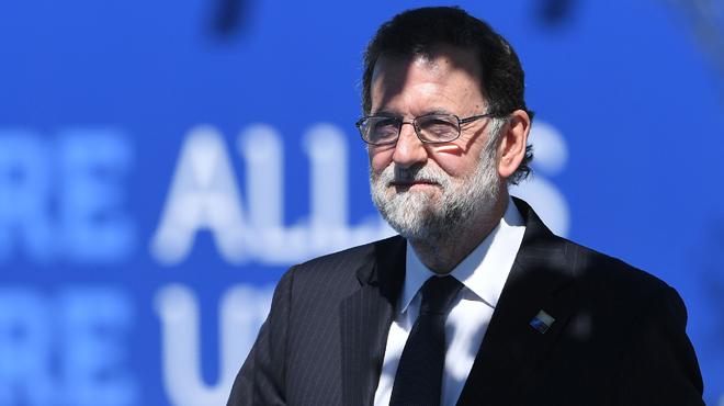 """Rajoy en Bruselas: """"No voy a permitir que nadie liquide la soberanía nacional""""."""