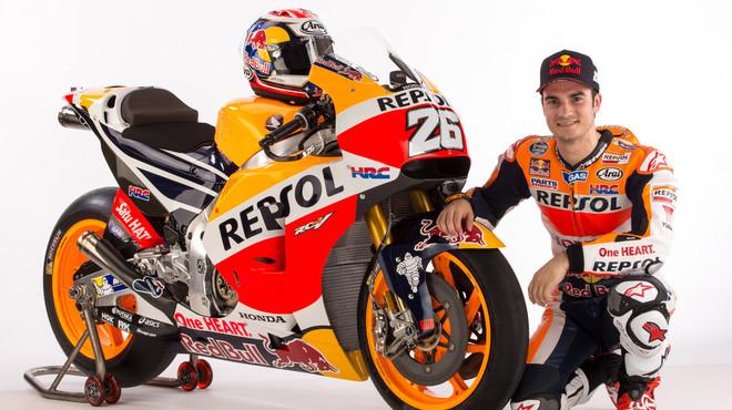 Pedrosa renova dos anys més amb Honda
