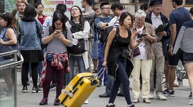 La despesa dels turistes estrangers creix a Espanya fins al novembre un 8,4%