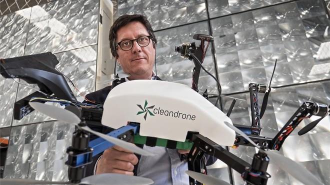 La catalana Cleandrone usarà drons per netejar edificis