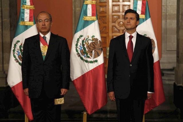 Enrique Pe�a ya es presidente de M�xico