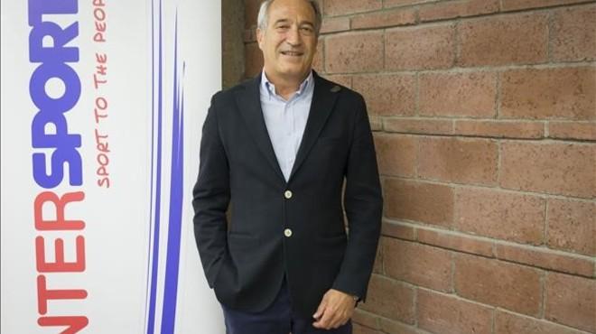 Ignasi Puig, consejero delegado en Espa�a de Intersport.