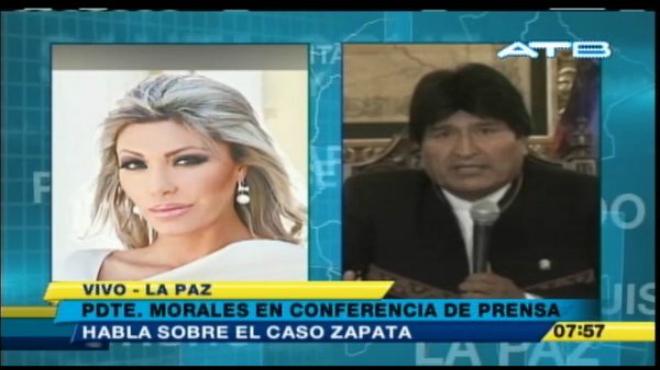 El presidente de Bolivia, Evo Morales, reclama conocer a su hijo, que cre�a muerto.