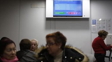 L'epidèmia de grip situa les urgències dels hospitals a un pas del col·lapse
