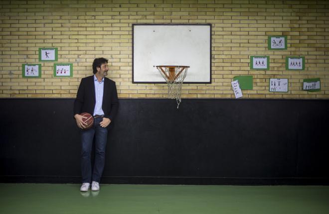 Jordi Villacampa, durante la entrevista.