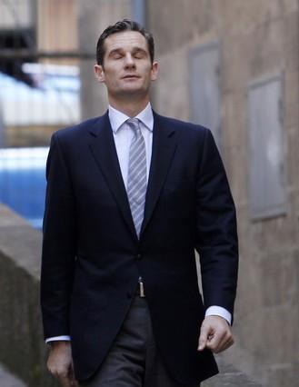 Iñaki Urdangarin a su llegada al juzgado de Palma de Mallorca para declarar sobre el caso de corrupción del que está acusado.