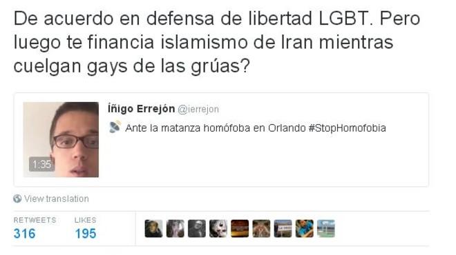 Podem i el PP s'enfronten per la matança homòfoba d'Orlando
