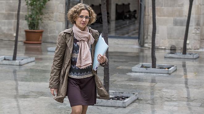 Laconsellerad'Ensenyament, Meritxell Ruiz, aposta per modificar les etapes educatives.
