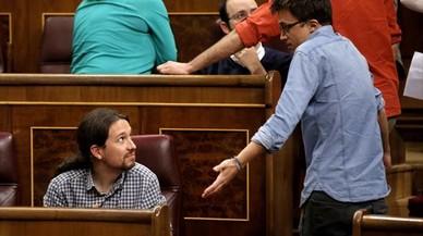 Podemos debate si registra la moción antes o después de que el PSOE tenga nuevo líder