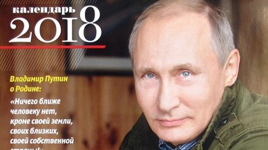 Putin, un líder de calendario que arrasa