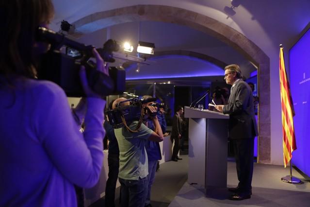 Artur Mas niega irregularidades en el Govern y en CDC