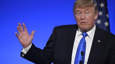 """Trump diu que el que va fer el seu fill amb els russos """"és habitual en política"""""""