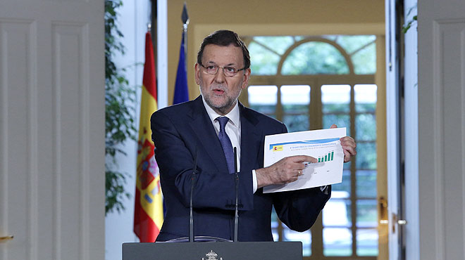 """Rajoy: """"Espanya entra en una fase de creixement sostingut i d'ocupació"""""""