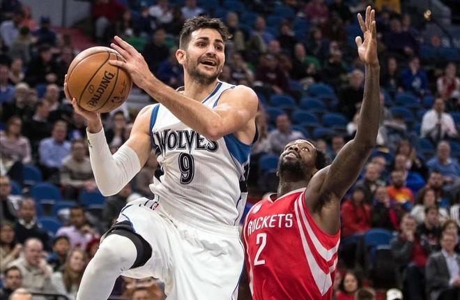 Ricky Rubio ya es parte de la historia de los Wolves.