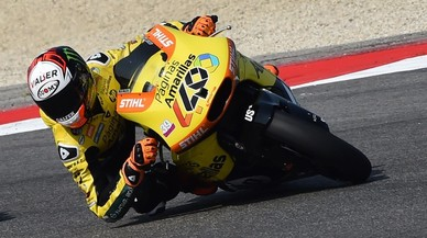 Rins buscarà el liderat de Moto2 en el GP d'Aragó