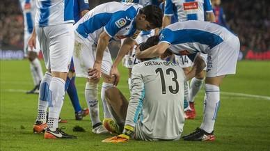 Un Espanyol trencat sense les mans de Diego López