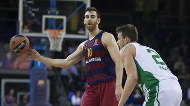 El Barça s'alleuja amb un triomf contra l'Unics en un altre partit gris