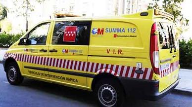 Un jove, en estat crític després de ser apunyalat a Madrid