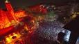 Mishima, Coriolà i Klaxons, en el concert de Damm, a la Mercè