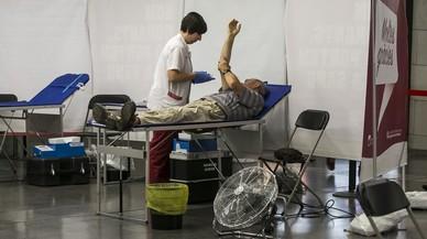 Les donacions de sang es van doblar després dels atemptats de BCN i Cambrils