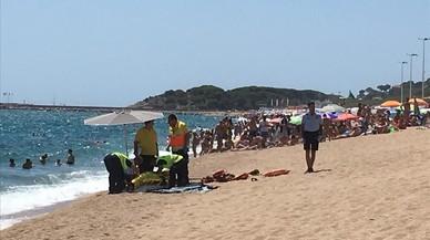 Els ofegats a les platges pugen a 18, només dos menys que en tot l'estiu passat