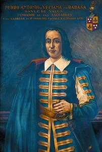 Retrato de Pere Anton Veciana.