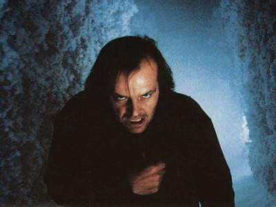 Jack Nicholson, en 'El resplandor'.