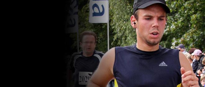 Andreas Lubitz, durante una prueba atl�tica en Hamburgo en el 2009.