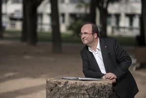 El candidato del PSC a los comicios del 27-S, Miquel Iceta.
