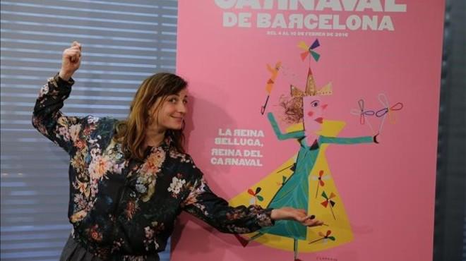 La Reina Belluga proclama aquest dijous el seu regnat al Carnaval de Barcelona