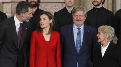 Felip VI compleix 49 anys envoltat de personalitats de la cultura