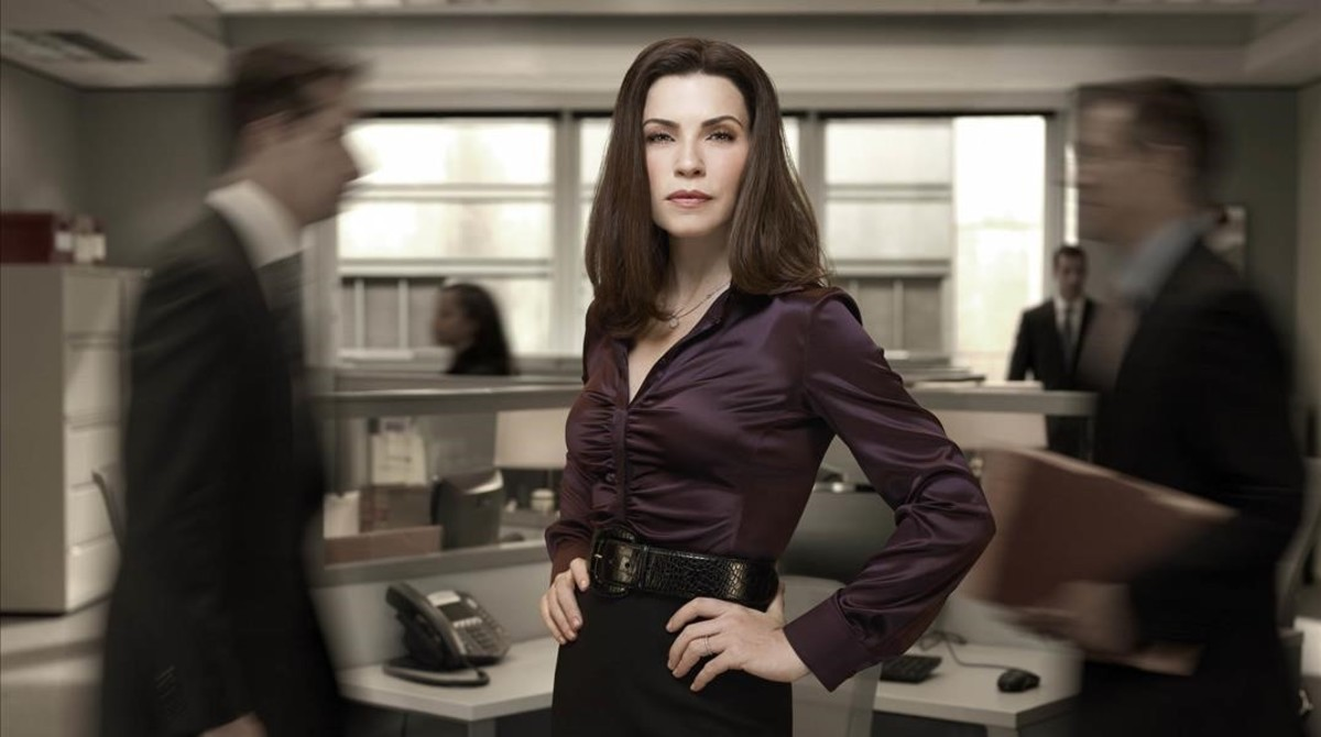 Juliannna Margulies, una madre que intenta conciliar vida familiar y profesional (The good wife)
