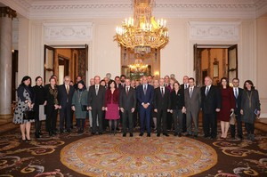 Urkullu y los embajadores