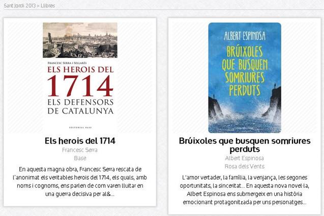 Aplicaciones para no dejarte nada en Sant Jordi