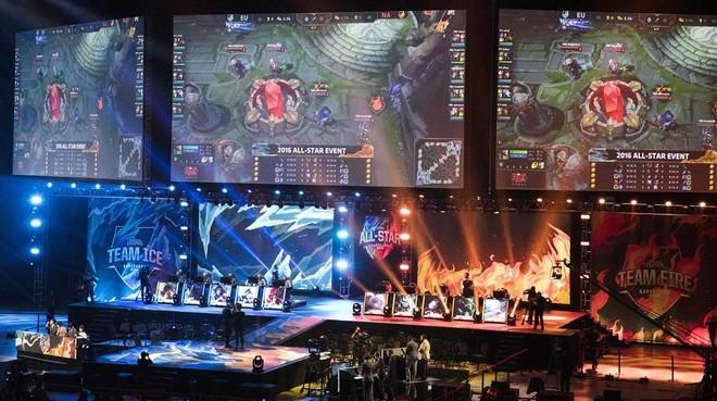 Imagen del Palau Sant Jordi de Barcelona durante el All Star del videojuego League of Legends, el pasado mes de diciembre.