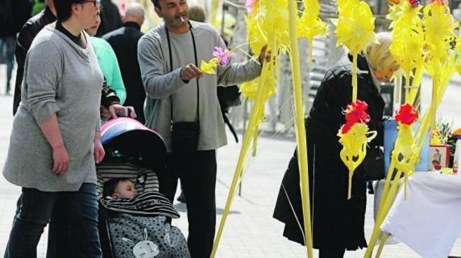 El Domingo de Ramos y 'La Passió' dan inicio a la Semana Santa en Terrassa