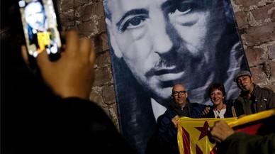 """Mas, en l'homenatge a Companys: """"L'ombra de Franco és molt allargada"""""""