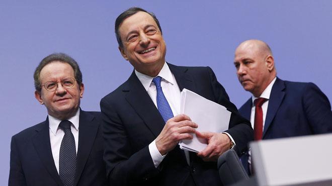 El BCE comprarà 100.700 milions de deute espanyol